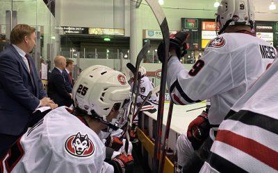#2 Ranked Huskies' Men's Hockey Split Series with Top Ranked Minnesota State – Mankato